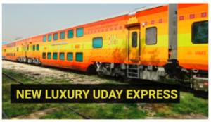 Railways' second double-decker Uday Express to operate between Visakhapatnam, Vijayawada
