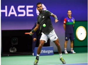 Sumit Nagal became first Indian to win a set against Roger Federer