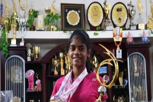 Tamil Nadu girl obtained the gold medal in World Deaf Youth Badminton Championship