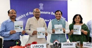 Union HRD Minister launched Integrated Online junction for School Education Shagun