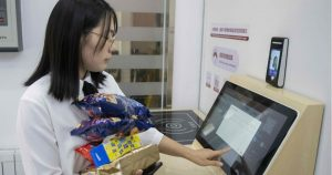 China adopted facial payments in cashless drive