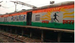 "Indian Railways across the country is commemorating ""Swachhta-Hi-Seva Pakhwada"" from 11th September to 2nd October"
