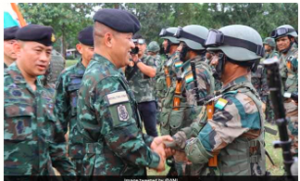Indo-Thailand Joint Military Exercise Maitree – 2019