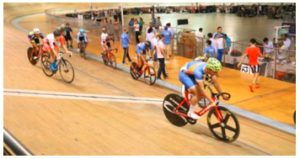 Ronaldo Laitonjam won the fourth gold in Track Asia Cup cycling