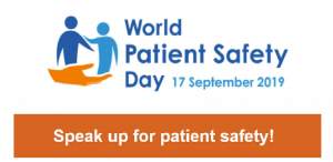 September 17 as World Patient Safety Day