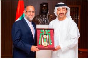 UAE President offers First Class Order of Zayed II award to Navdeep Singh Suri