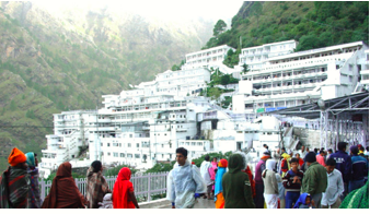 Vaishno Devi Shrine topped the list of 'Swachh Iconic Places'
