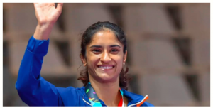 Vinesh Phogat became first Indian wrestler to qualify for the 2020 Tokyo Olympics