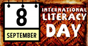 World Literacy Day is observed on 8 September