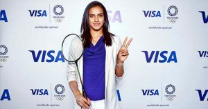 Visa appointed PV Sindhu as its brand ambassador