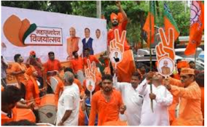 BJP won Maharashtra with Shiv Sena, emerges single-largest party in Haryana