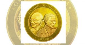 Gandhi Mandela Award 2019 an action to commemorate All-Time World Pioneers