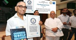 Lucknow-based school got Guinness World Record title for having 55,547 students