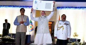 PM issued a commemorative stamp to honour Marshal IAF Arjan Singh