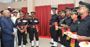 President Kovind presents Presidents Colours to the Army Aviation Corps