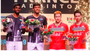 Satwiksairaj Rankireddy-Chirag Shetty get silver in the doubles event at French Open