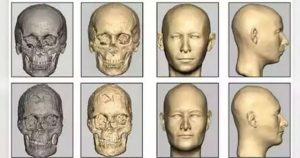 Scientists constructed the face of the Indus Valley people