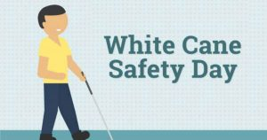 U.S. remarks 15 October as White Cane Safety Day