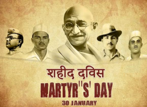 30 January as Martyr's Day