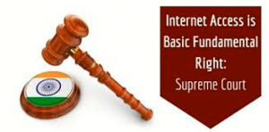According to Supreme Court, Access to Internet is a fundamental right