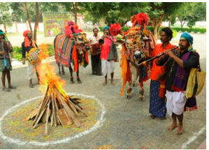 Bhogi is celebrated in south India