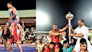 Harshvardhan Sadgir obtained the 2020 Maharashtra Kesari title