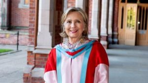 Hillary Clinton elected as new chancellor of Queen's University Belfast in Ireland