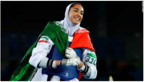 Iranian Olympic medalist Kimia Alizadeh declares her defection