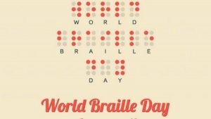 World Braille Day celebrated on January 4th