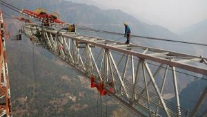 Worlds highest railway bridge set to be built by 2021 December