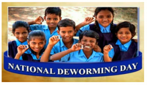 10 December as National De-worming Day