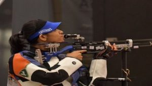 Ayonika Paul got the women's 10m Air Rifle T1 event