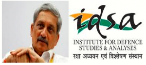 IDSA will rename as Manohar Parrikar Institute for Defence Studies and Analyses