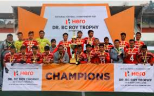 Mizoram get Junior National Football Championship for Dr. BC Roy Trophy