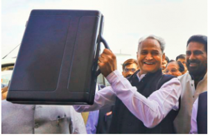 Rajasthan CM presented the state budget for 2020-21
