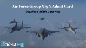 Air Force Admit Card
