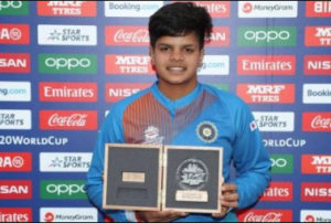 Shafali Verma topped in ICC women's T20I rankings