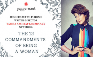 Tahira is to launch her book ''The 12 commandments of Being A Woman''