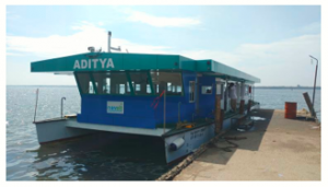 India's first solar-powered ferry Aditya got Gustave Trouve Award